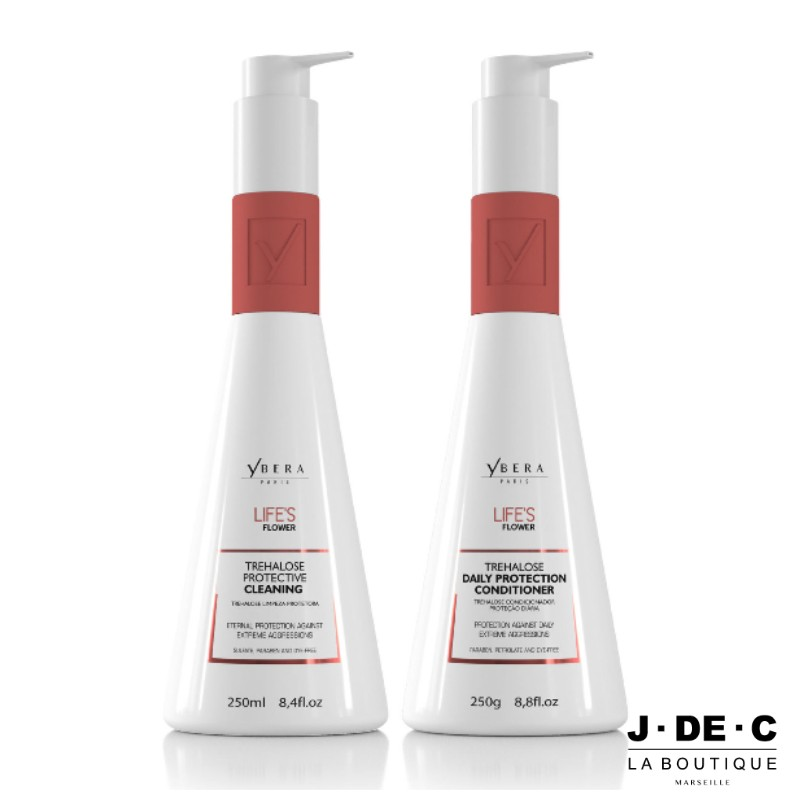 Duo Shampooing & Conditioner Trehalose Protection - Life's Flower • YBERA Paris