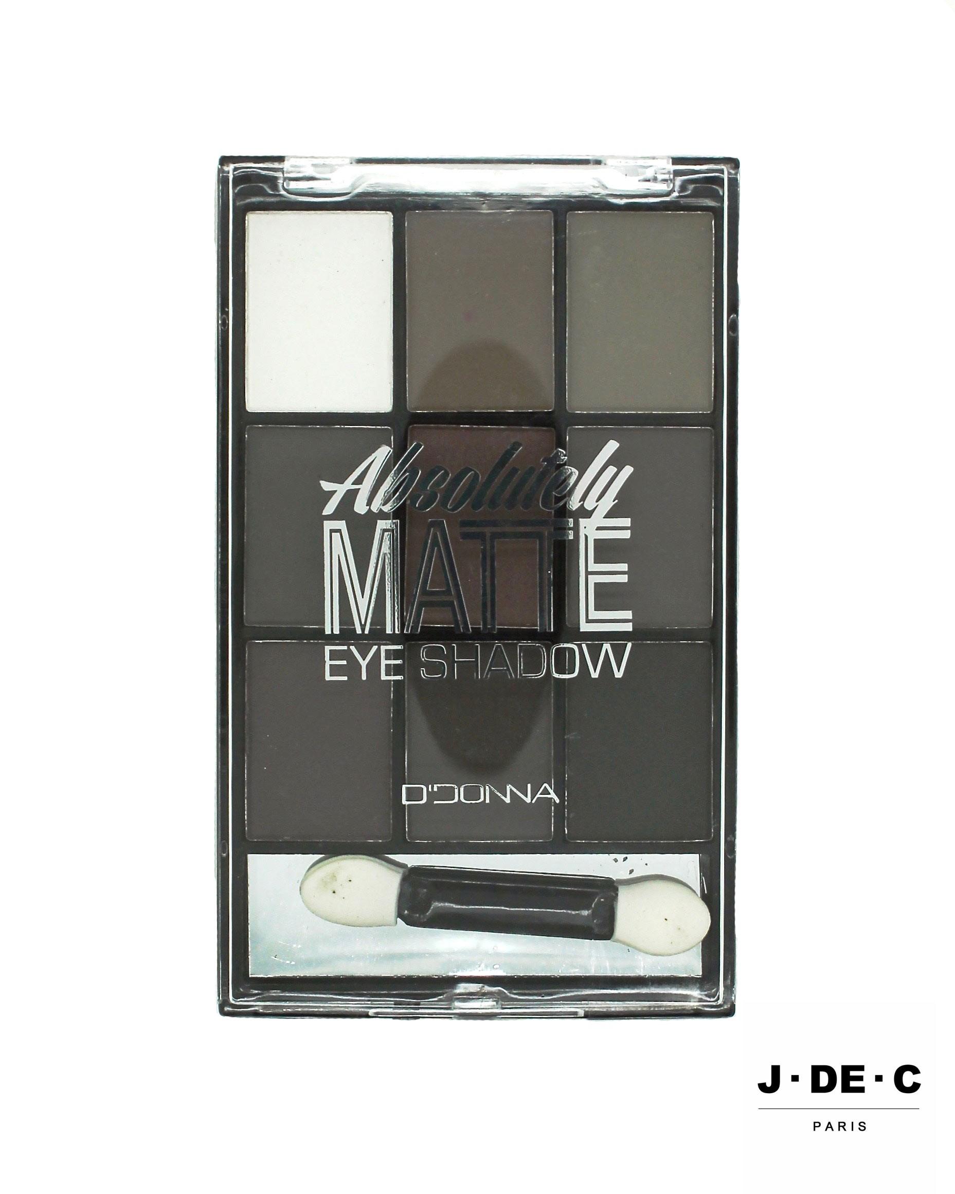 Palette de Fards à Paupières Mat • Nuances de Gris / Grey