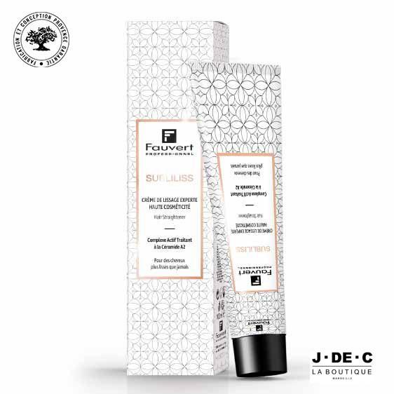 Crème de Lissage SUBLILISS Force 0 • FAUVERT Professionnel